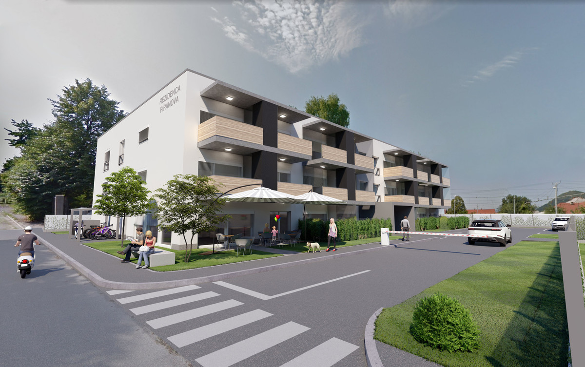 Rezidenca Pipanova - NEW HOUSING UNITS IN VIŽMARJE